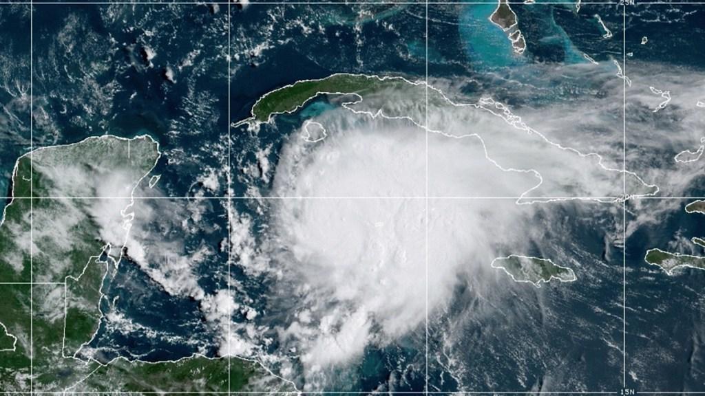 'Grace' evoluciona a huracán rumbo a la Península de Yucatán - Huracán Grace