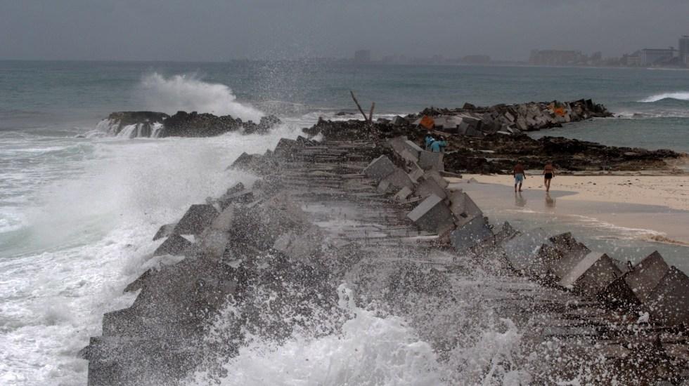 Paro de actividades y ley seca en Quintana Roo ante llegada de Grace - Huracanes tormenta tropical temporada costas Quintana Roo
