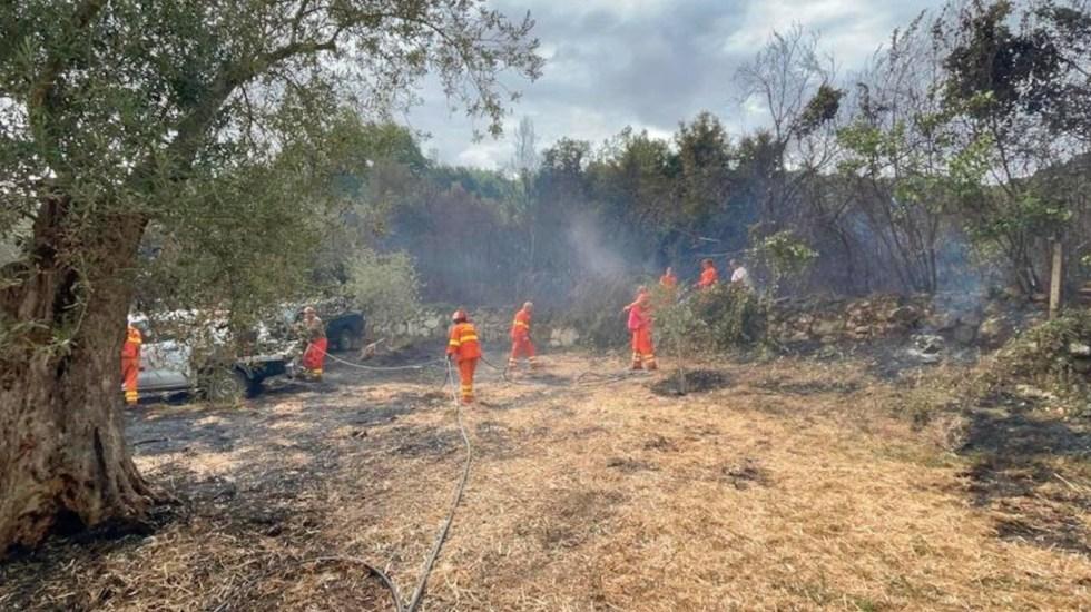 Incendios en Italia provocan más de 400 llamadas de emergencia - Incendios en Italia provocan más de 400 llamadas de emergencia. Foto de EFE