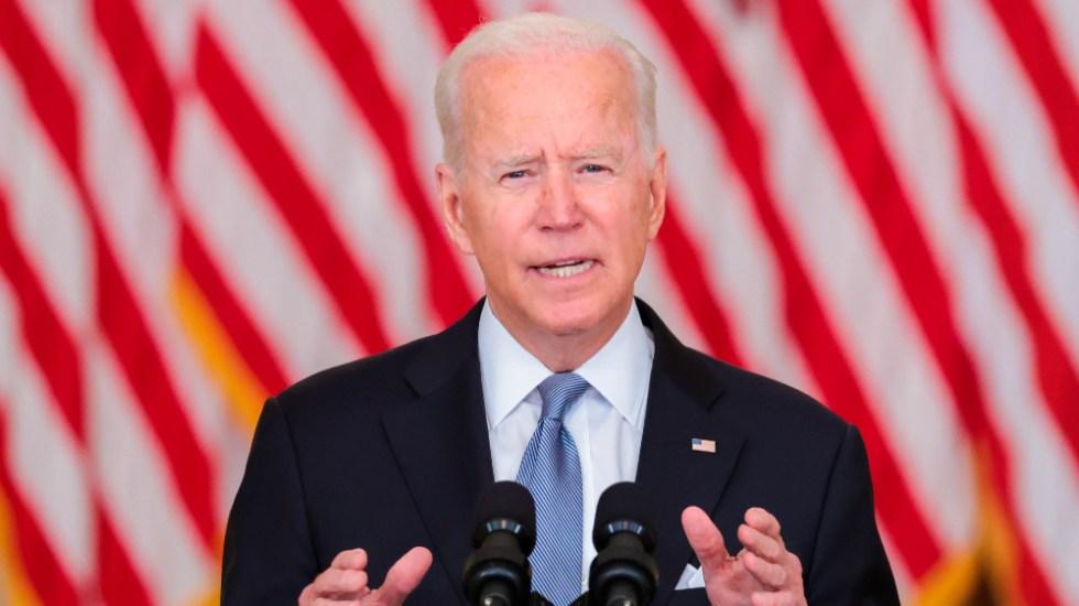 Biden mantiene retiro de tropas de Afganistán; amenaza con devastadora respuesta si talibanes atacan intereses de EE.UU. - Joe Biden Afganistán EEUU