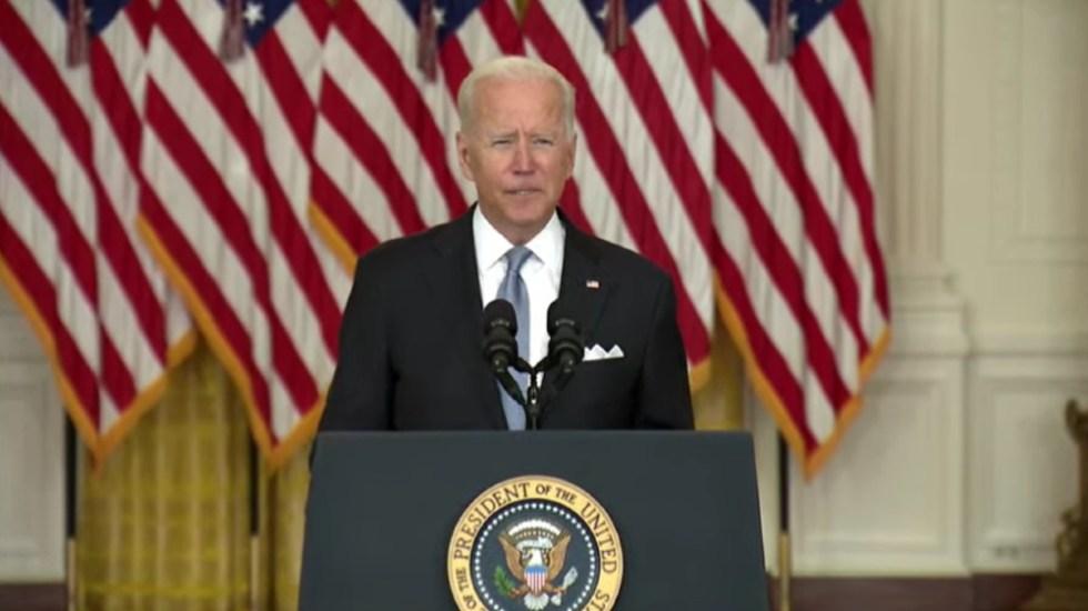 Misión de EE.UU. en Afganistán nunca fue crear democracia: Biden - Joe Biden Afganistán