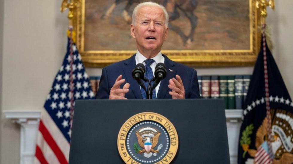 Biden insiste en el desalojo de Afganistán para el 31 de agosto - Joe Biden presidente Estados Unidos