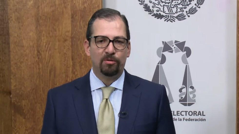 Desconoce Vargas destitución, declara nula la sesión de hoy y pide no generar crisis institucional - José Luis Vargas TEPJF