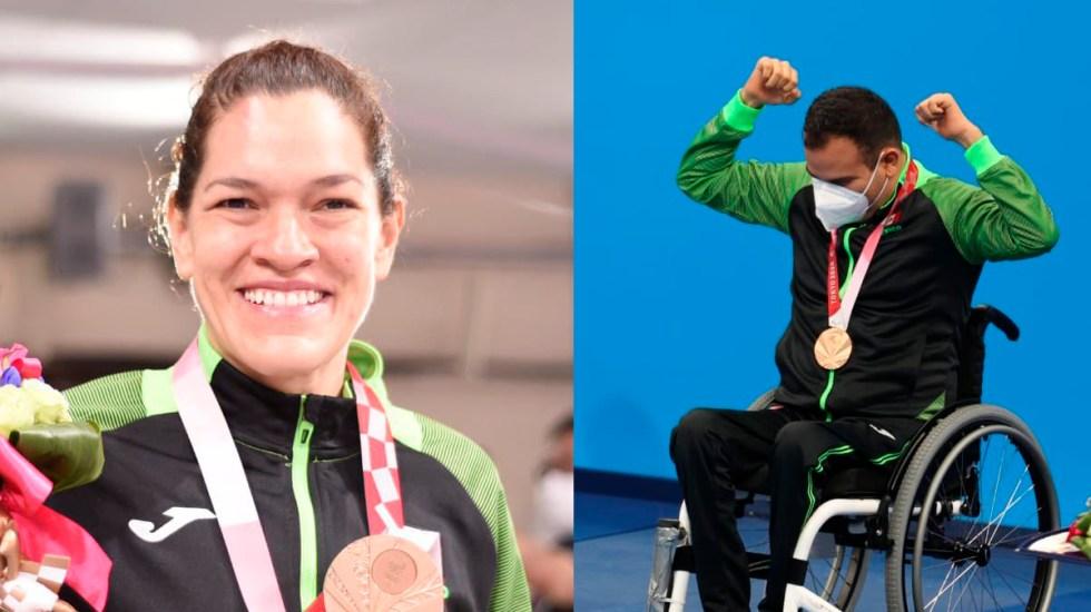 Lenia Ruvalcaba y Diego López suman dos medallas de bronce para México en Juegos Paralímpicos - Lenia Ruvalcaba y Diego López