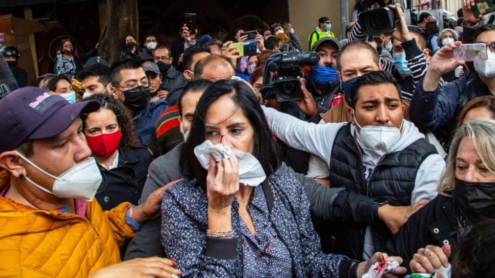 La política no es un circo: Sheinbaum a alcaldes electos de oposición - Lía Limón agresión CDMX alcaldes
