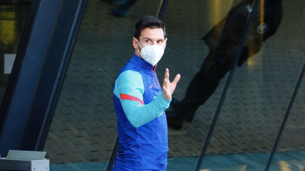 Messi dará conferencia para explicar motivos de su salida del Barcelona - Messi dará conferencia para explicar motivos de su salida del Barcelona. Foto de EFE