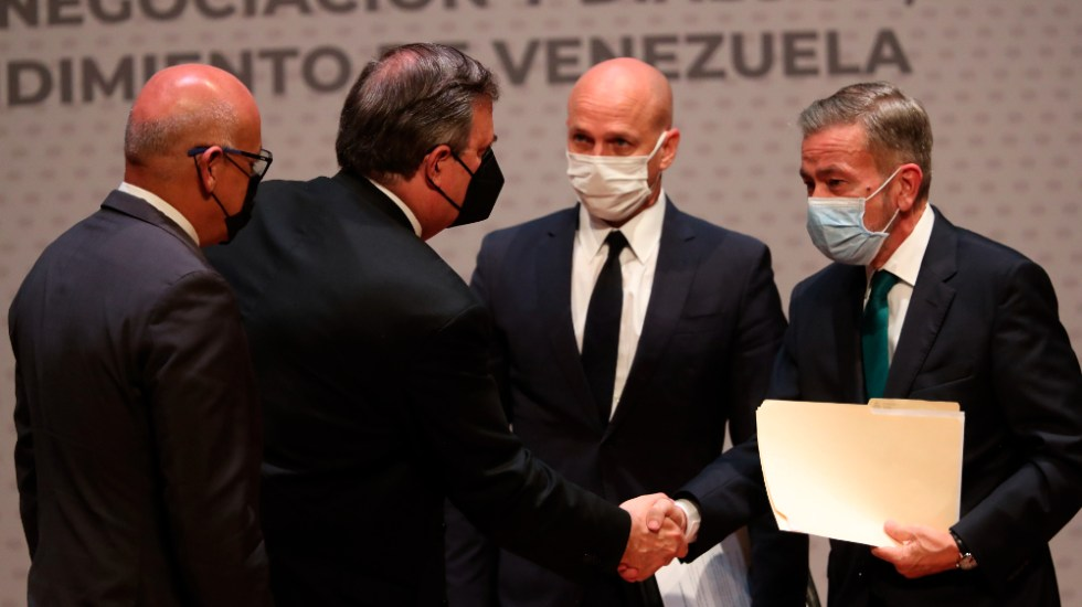 Diálogo de Venezuela permanece incierto, pero da a México relevancia regional - México Venezuela diálogo SRE