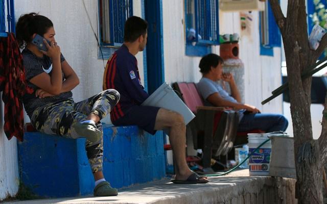 Migrantes en Ciudad Juárez esperan que no se reactive el programa 'Permanecer en México' - Migrantes en albergue Pan de Vida en Ciudad Juárez, Chihuahua