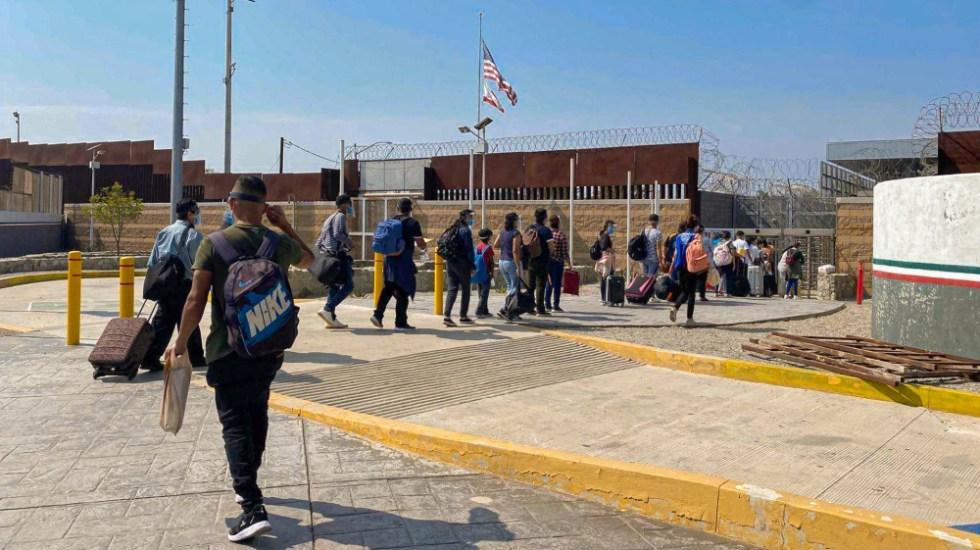 """AMLO respalda postura de SRE sobre resolución del programa """"Permanece en México"""" - migrantes MPP Permanece en México EEUU"""
