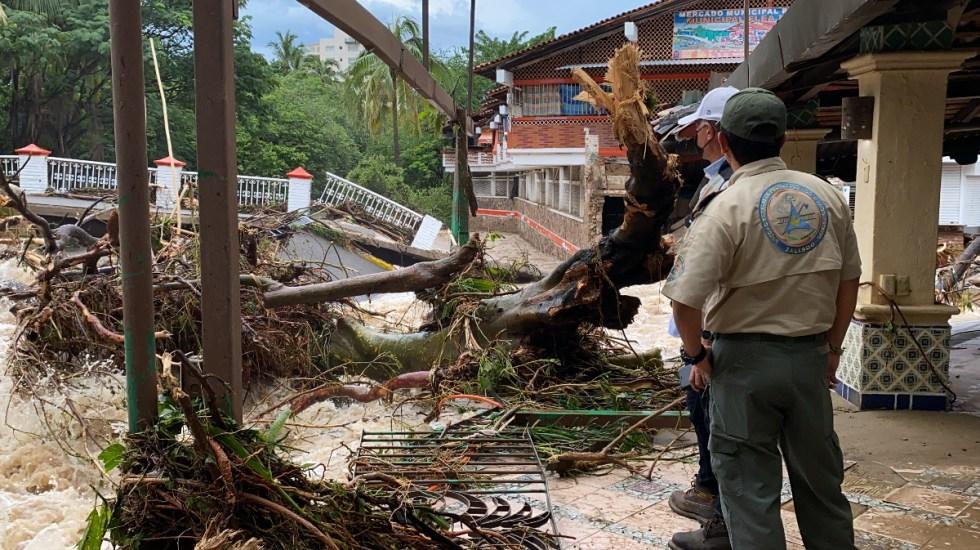 Hallan muerto a menor que desapareció tras colapso en hotel de Puerto Vallarta por Nora - Nora tormenta Jalisco Daños Puerto Vallarta 2