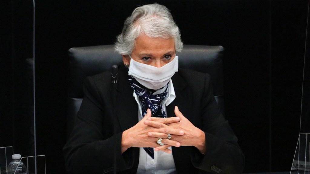 Convoca Sánchez Cordero a buscar consensos y diálogo en el Senado - Convoca Sánchez Cordero a buscar consensos y diálogo en el Senado. Foto de EFE