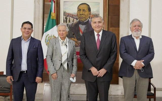 Adán Augusto López asume formalmente como titular de Segob - Olga Sánchez Cordero Adan Augusto López Segob