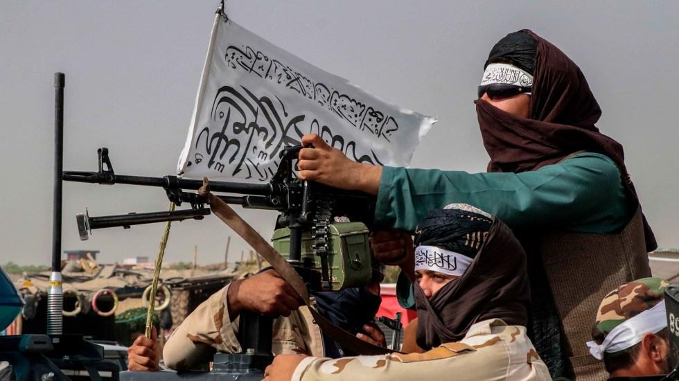 Indigna en Afganistán discurso de Biden sobre retirada de tropas - Patrullaje de talibanes en Kabul