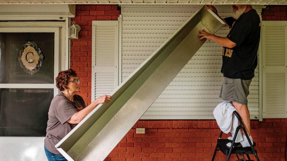 Ida se intensifica a huracán categoría 2; Nueva Orleans se prepara para su llegada - Ida se intensifica a huracán categoría 2; Nueva Orleans se prepara para su llegada. Foto de EFE