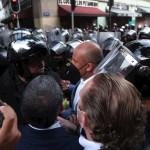 """Morena tacha de """"montaje"""" enfrentamiento en Ciudad de México entre alcaldes electos y policías"""