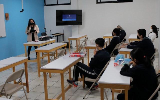 Ya se demostró, no hay contagios de COVID-19 tras regreso a clases: AMLO - regreso clases alumnos escuelas Michoacán México
