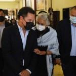 Senadores de oposición dejan plantada a Sánchez Cordero en diálogo sobre periodo extraordinario
