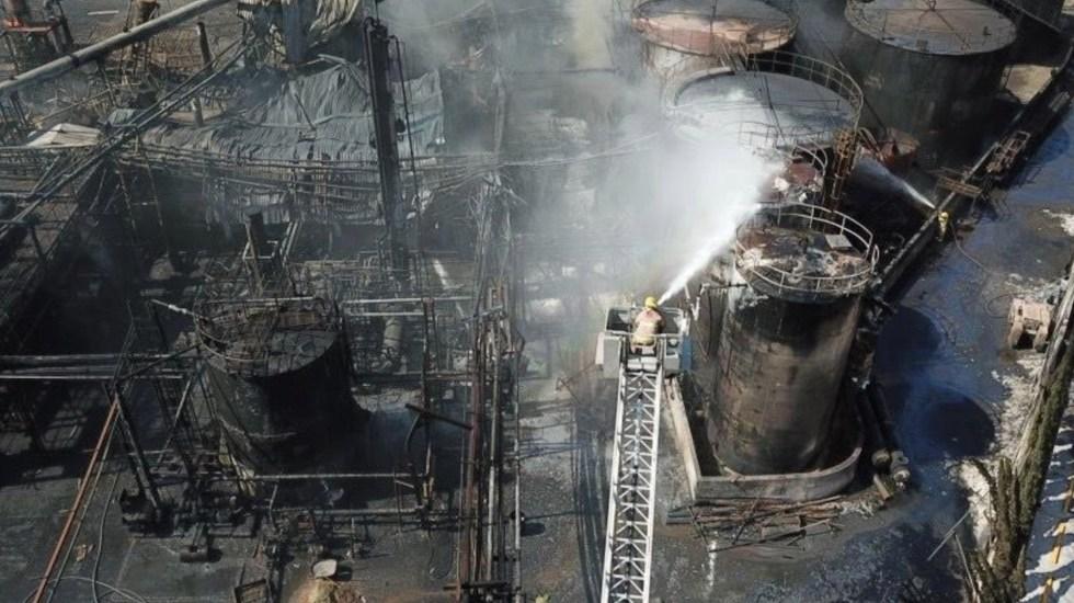 #Video Incendio en planta deja al menos dos muertos en Nuevo León - #Video Incendio en empresa deja al menos dos muertos en Nuevo León. Foto de Twitter Jaime Rodríguez Calderón