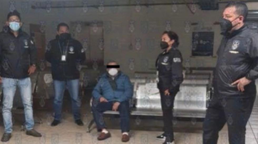 Vinculan a proceso a Saúl Huerta por violación - Detienen a Saúl Huerta; es trasladado al Reclusorio Oriente. Foto de Policía de Investigación