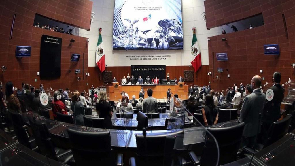 Senado dispensa primera lectura de Ley de Revocación de Mandato - Tribunal Electoral periodo extraordinario