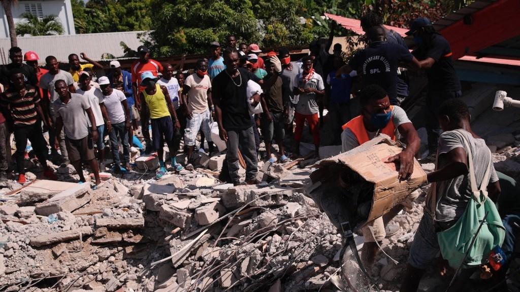 Haití pide ayuda internacional para afrontar afectaciones de sismo - Haití pide ayuda internacional para afrontar afectaciones de sismo. Foto de EFE