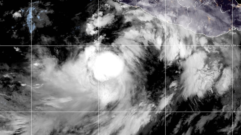 Ciclón 'Nora' ocasionará lluvias en seis estados con miras a convertirse en huracán - Tormenta tropical Nora