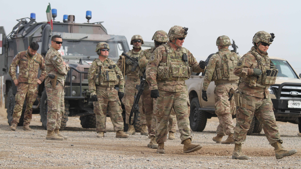 EE.UU. enviará tropas a Kabul para evacuar personal de su embajada - tropas soldados EEUU
