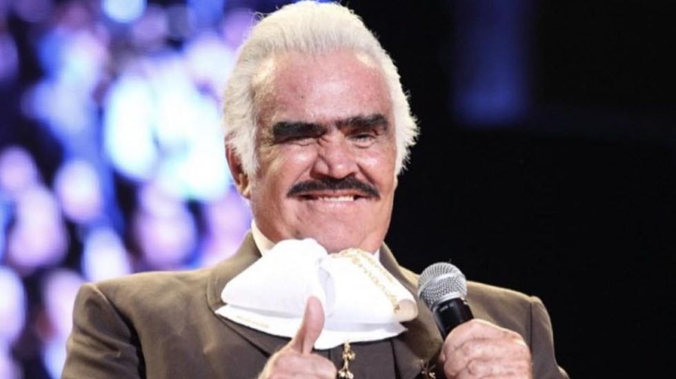 Vicente Fernández, grave en terapia intensiva - Vicente Fernández cantante