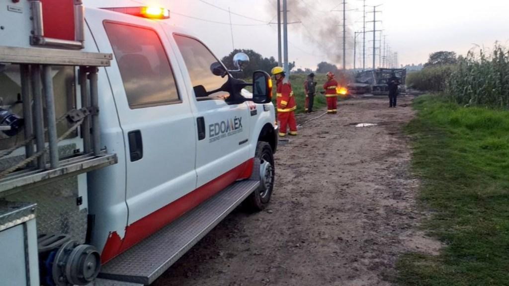 Explota en Acolman toma clandestina en ducto de Pemex - Acolman explosión toma clandestina México
