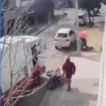 #Video Golpean a presuntos ladrones en Tultitlán