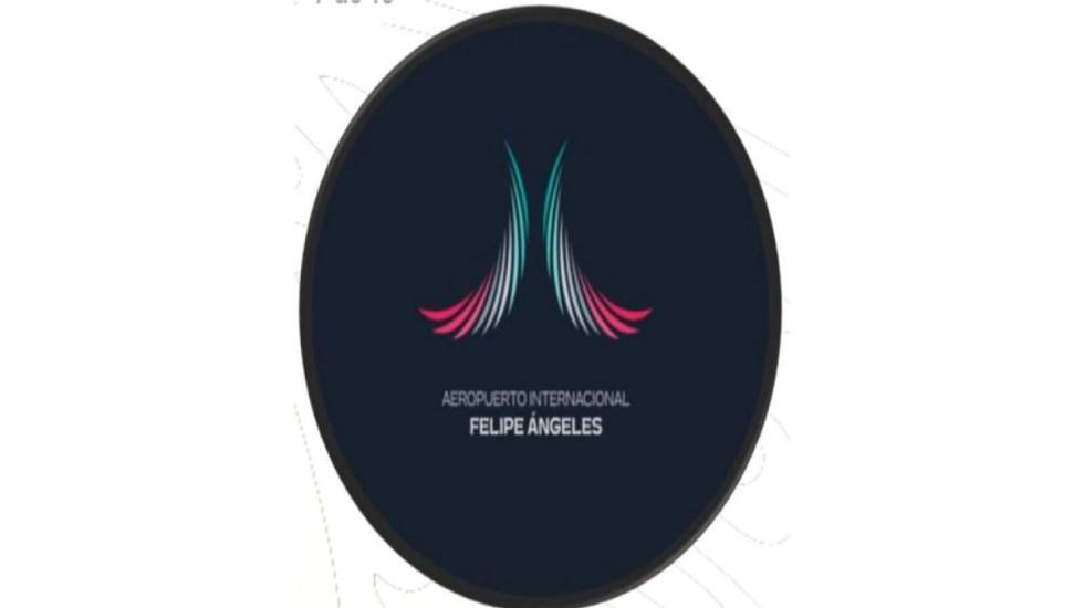 Este es el nuevo logotipo del Aeropuerto Felipe Ángeles de México - Nuevo logotipo del Aeropuerto Internacional Felipe Ángeles de México.