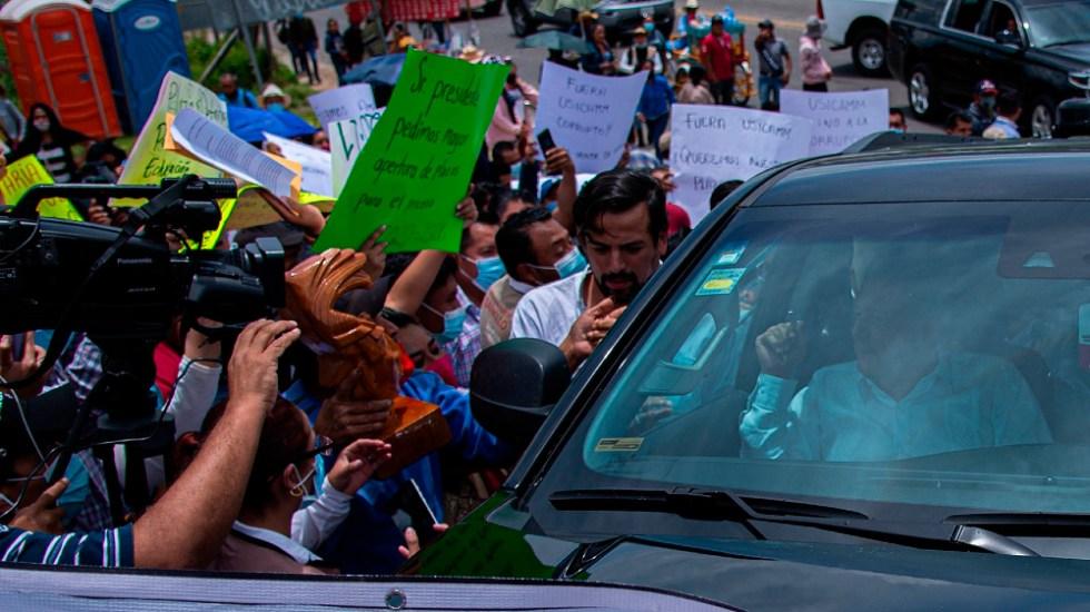AMLO descarta tener diferencias con CNTE tras bloqueos en Chiapas - AMLO López Obrador bloqueos CNTE Chiapas