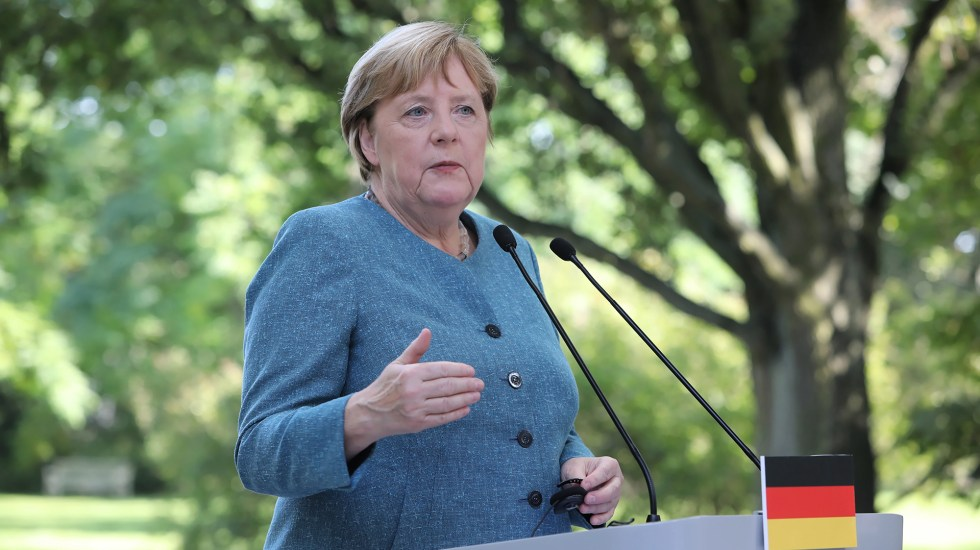 """Alemania celebra elecciones generales para poner fin a """"era Merkel"""" - Angela Merkel. Foto de EFE/Archivo"""