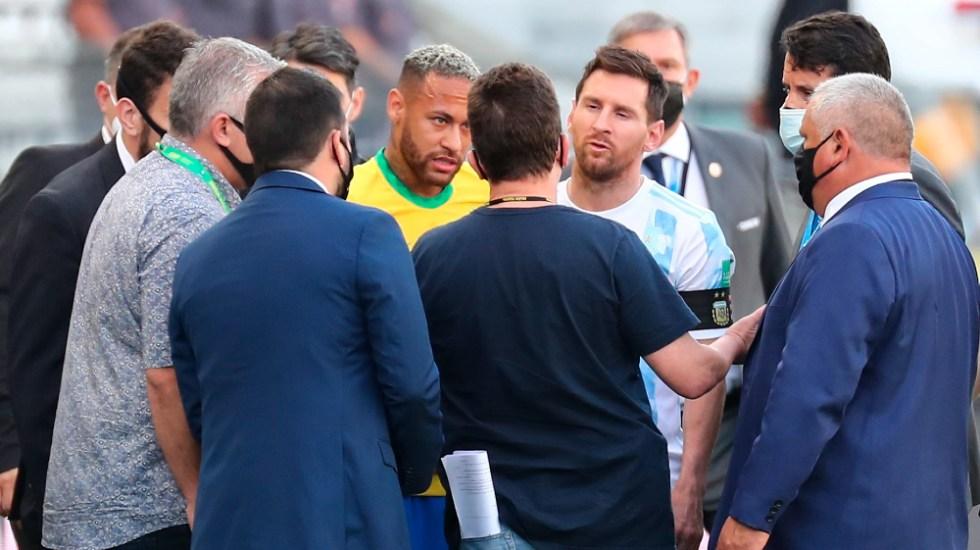 FIFA recibe primeros informes del Brasil-Argentina y decidirá a su debido tiempo - Argentina Brasil suspensión FIFA