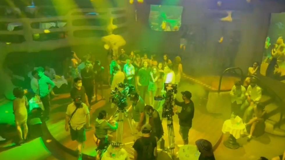 Así fue la última vez que la pista del Baby'O brilló en todo su esplendor - Baby'O Acapulco Guerrero grabación 40 y 20