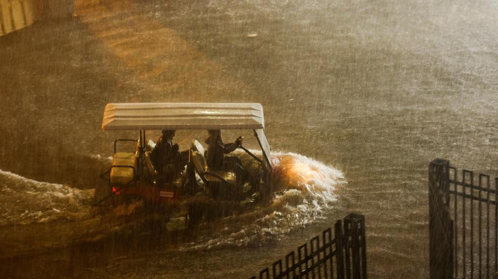 Nueva York, en emergencia tras ser abatido por los restos de 'Ida' - Inundación en Nueva York