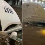 Tesla de Beat queda varado en bajo puente de Periférico; empresa borra viaje y ofrece 30 pesos