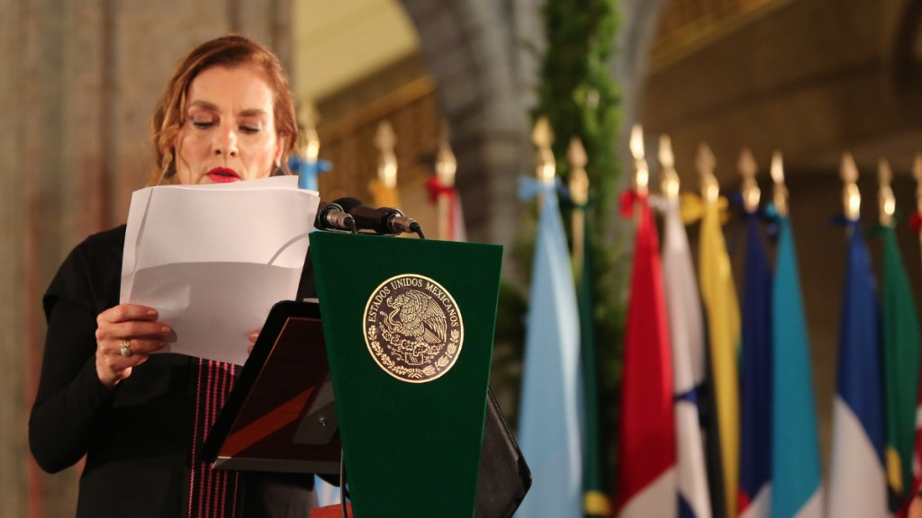Revela AMLO discurso de Gutiérrez Müller en cena previa a la Celac - Beatriz Gutiérrez Müller