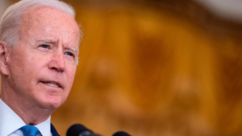 Biden felicita a México por aniversario de Independencia; desea avances en seguridad y prosperidad - Biden en conferencia de prensa
