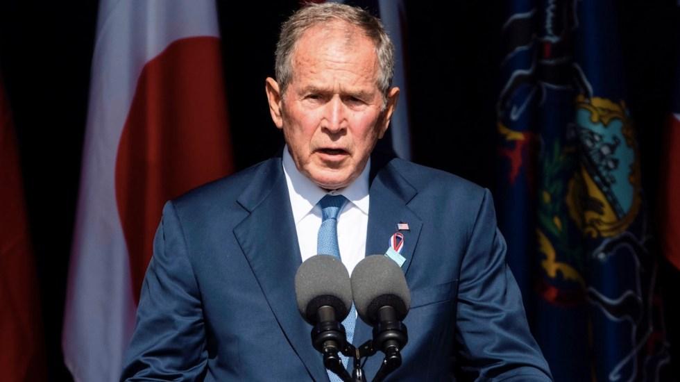 Bush defiende lucha contra extremistas dentro y fuera de EE.UU. - Bush defiende lucha contra extremistas dentro y fuera de EE.UU.. Foto de EFE