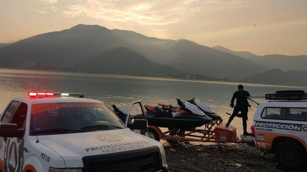 Localizan muerto en Nuevo León a adolescente desaparecido en presa La Boca - Búsqueda de adolescente en Presa La Boca de Nuevo León
