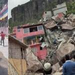 #Videos Al menos un muerto y un lesionado tras derrumbe en el cerro del Chiquihuite