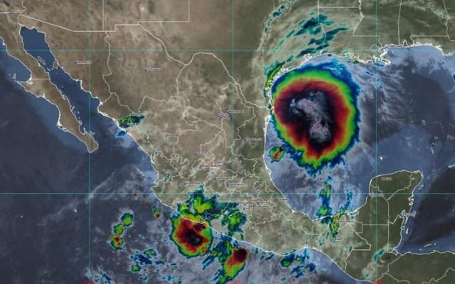 Tormenta tropical Nicholas está muy cercana a costa norte de Tamaulipas - ciclón Nicholas SMN