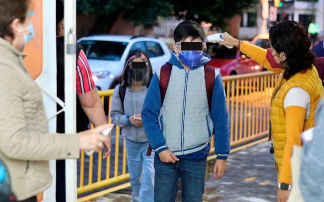 Regreso a clases no ha repercutido en incremento de contagios por COVID-19: López-Gatell - clases regreso México