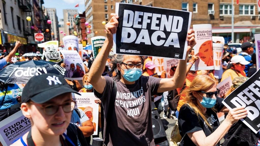 EE.UU. pela fallo que considera ilegal el programa DACA. Foto de EFE