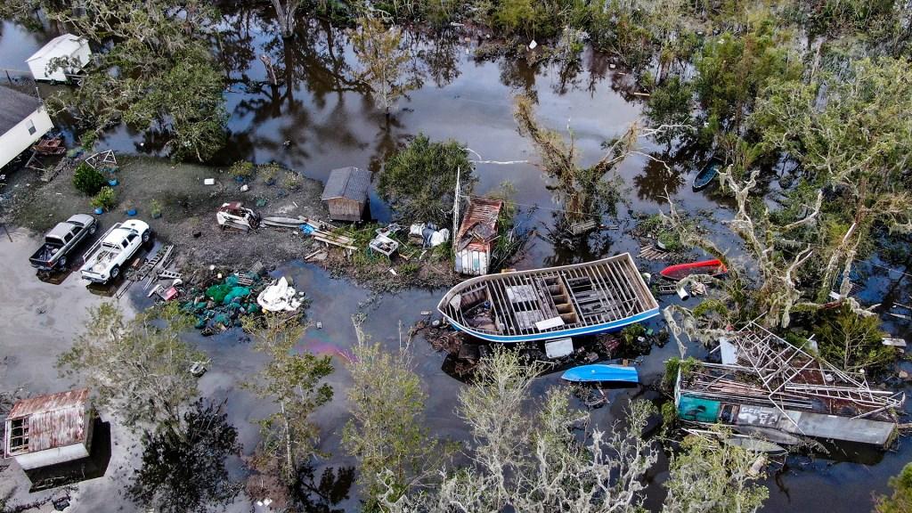 OMM perfila a 'Ida' como el huracán más costoso de la historia - Daños en Louisiana por el paso del huracán Ida. Foto de EFE