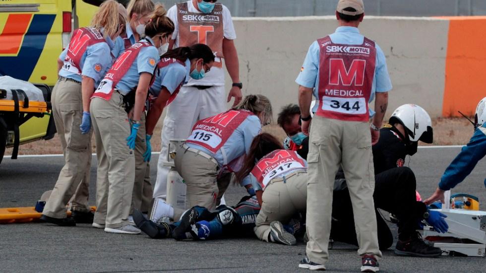 Murió el piloto Dean Berta Viñales, de 15 años, en el Circuito de Jerez - Dean Berta Viñales accidente motociclismo