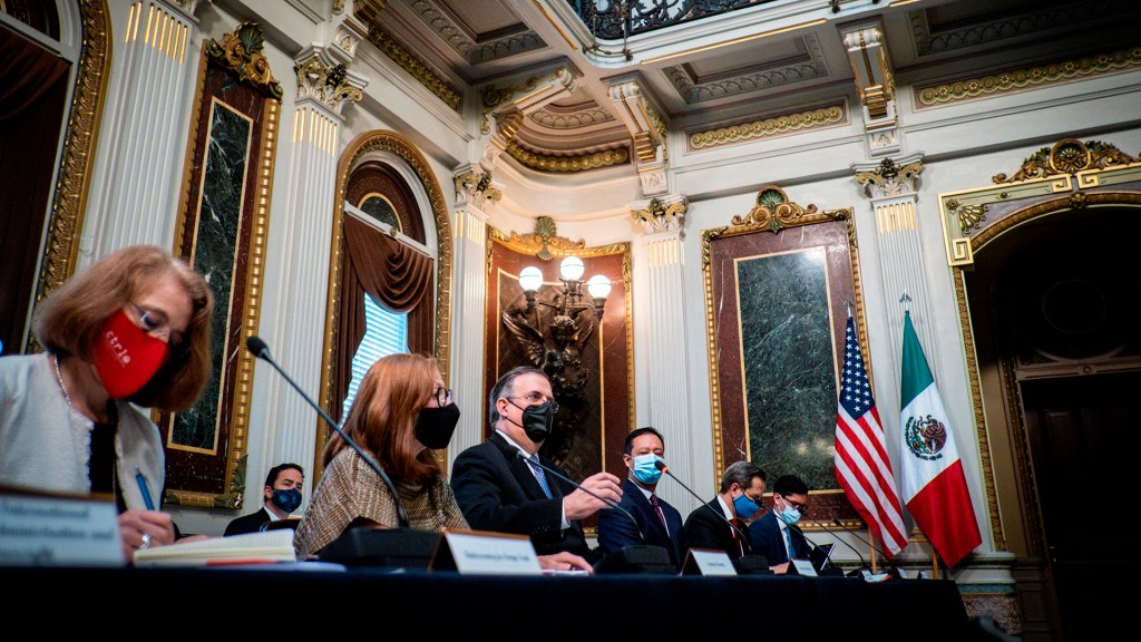 México y Estados Unidos retoman mecanismo de Diálogo Económico de Alto Nivel - Delegación mexicana que participó en diálogo económico de alto nivel