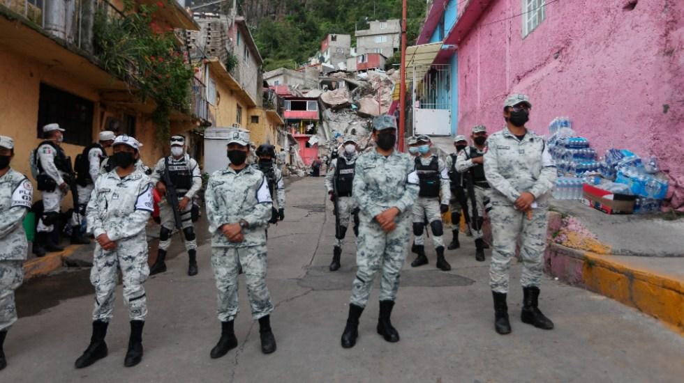 Suspenden labores de búsqueda en Cerro del Chiquihuite ante riesgo de derrumbe - derrumbe Cerro Chiquihuite Guardia Nacional
