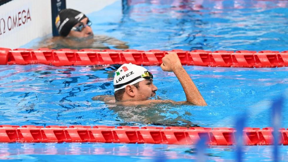 México supera las 20 medallas en Juegos Paralímpicos - Diego López celebra su tercera medalla en los Juegos Paralímpicos de Tokio 2020